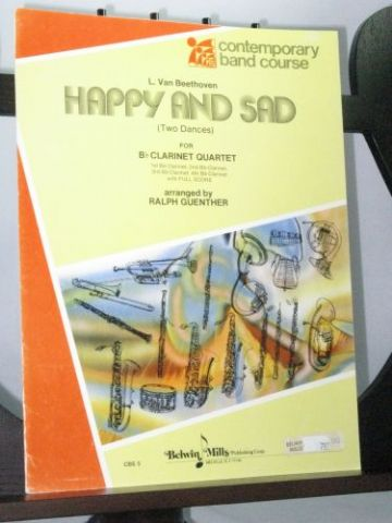 Beethoven L van - Happy and Sad 2 Dances arr Guenther R